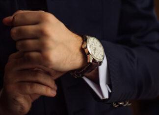 Modny zegarek męski